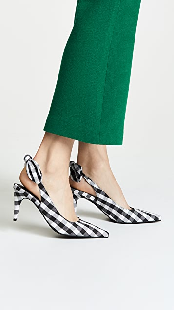 Jeffrey Campbell Cindy Gingham Pumps