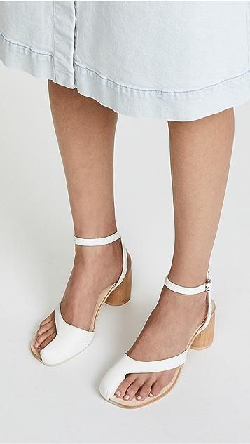 bfb1eca0b56 Jeffrey Campbell Hex Block Heel Sandals