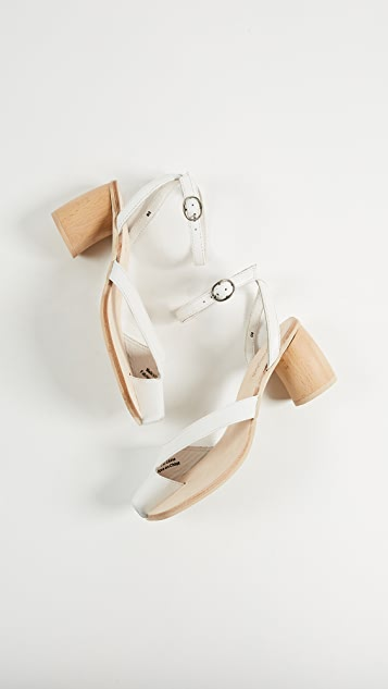 Jeffrey Campbell Hex Block Heel Sandals