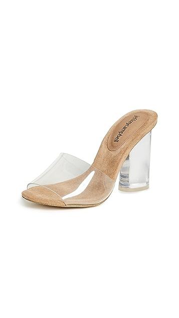 Jeffrey Campbell Minuit PVC Sandals