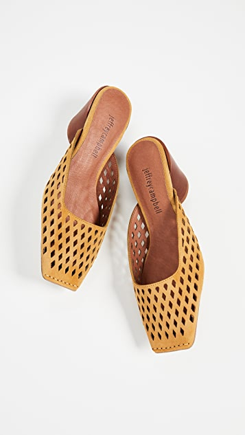 Jeffrey Campbell Lakme Perforated Pumps