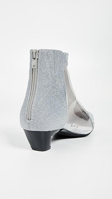 Jeffrey Campbell Mistress PVC Ankle Boots