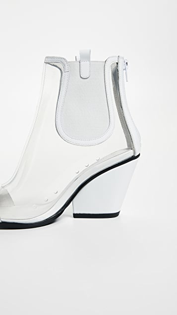 Jeffrey Campbell Aliases PVC Ankle Boots