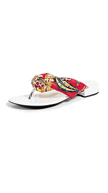 Jeffrey Campbell Tampa Chic Flop Flops