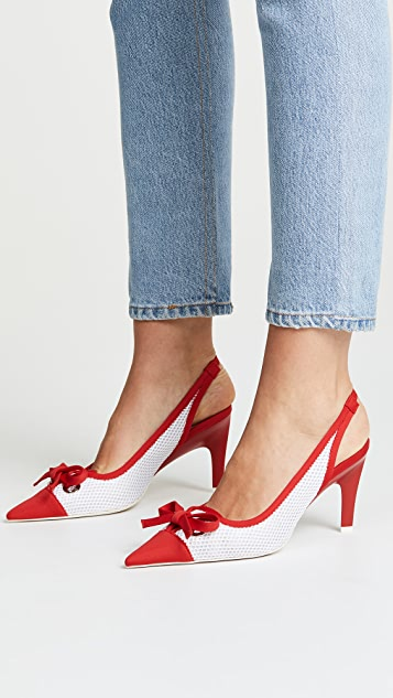 Jeffrey Campbell Cecily Point Toe Slingback Pumps