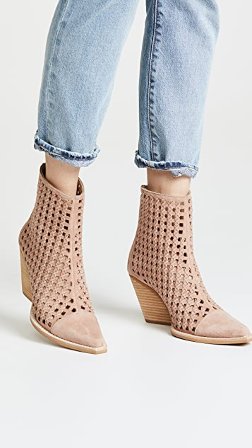 Jeffrey Campbell Oakwood Woven Booties