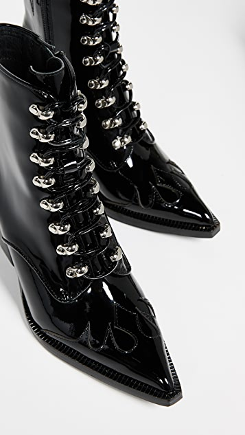 Jeffrey Campbell Enzyme Lace Up Boots