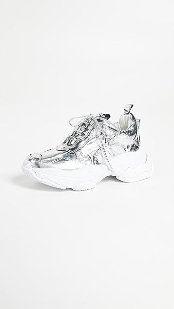 Jeffrey Campbell Lo Fi Sneakers - Metallic