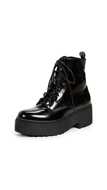Jeffrey Campbell Finnick Platform Combat Boots