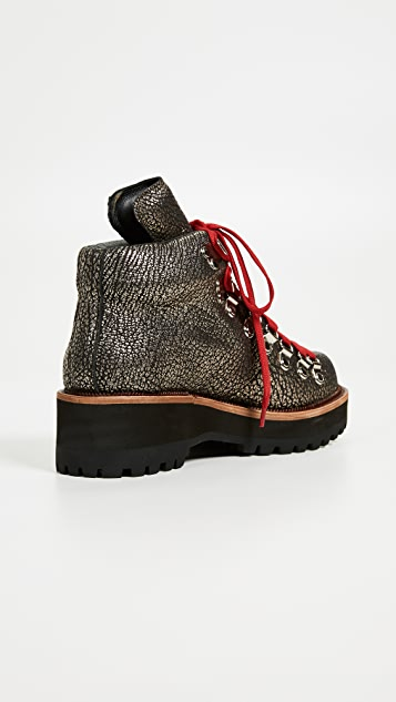 Jeffrey Campbell Туристические ботинки на танкетке Explorer
