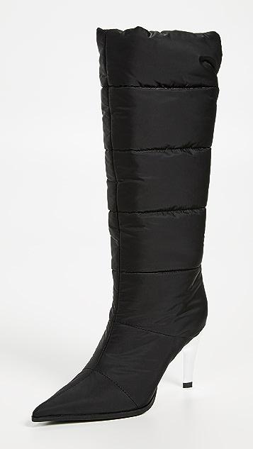 Jeffrey Campbell Apris Puffer Boots