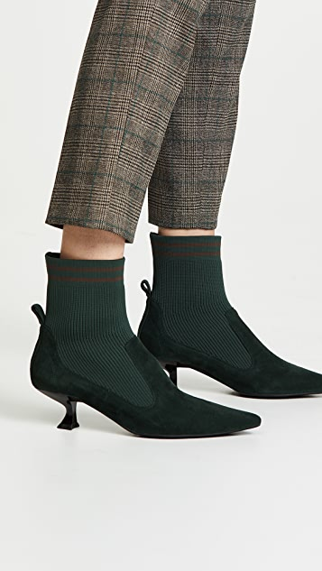 Jeffrey Campbell Morbid Sock Booties