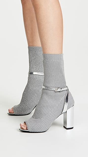 bf80b9ae5173 Jeffrey Campbell Nila Sock Booties