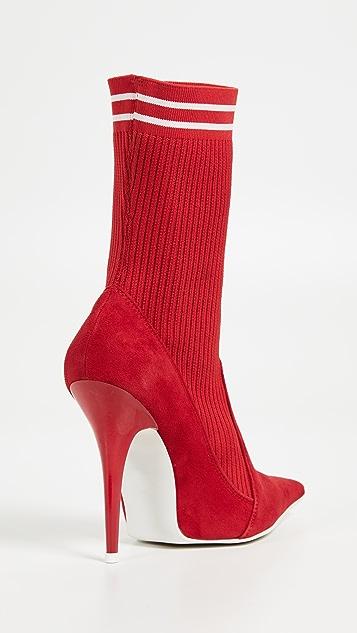 Jeffrey Campbell Starter Sock Booties