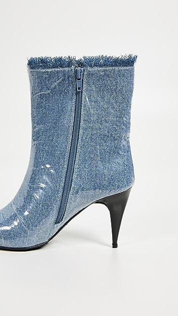Jeffrey Campbell Ботинки Plastique с остроконечным мыском