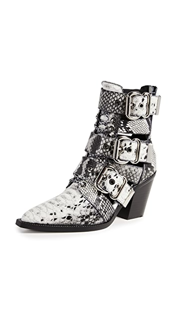 brand new db788 36561 Caceres Buckle Booties