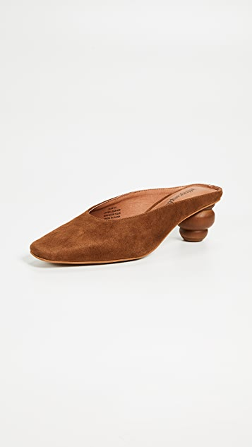 Jeffrey Campbell Cryptic Square Toe Mules