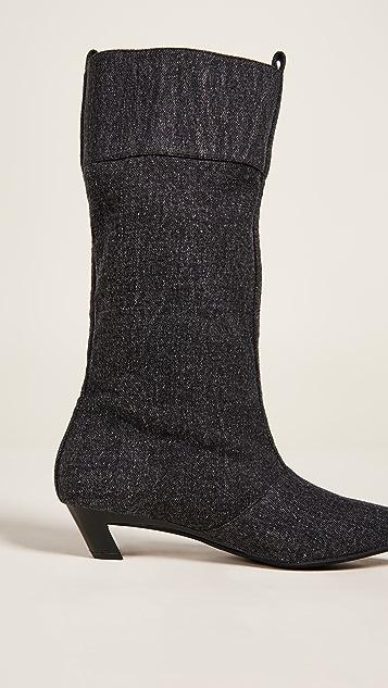 Jeffrey Campbell Hiroshi Kitten Heel Boots