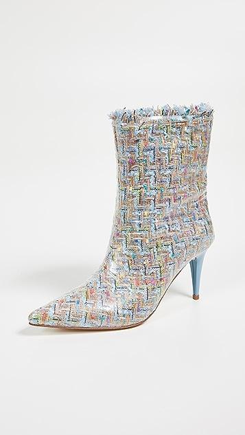 Jeffrey Campbell Plastique Point Toe Boots