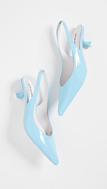 Jeffrey Campbell Amulet Point Toe Slingbacks