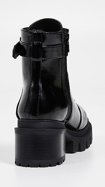 Jeffrey Campbell Армейские ботинки Czech