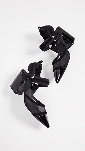 Jeffrey Campbell Atrophy Point Toe Slingbacks