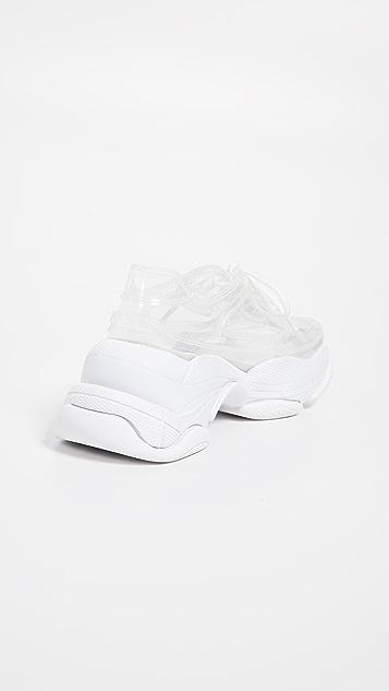 Jeffrey Campbell Email Vinyl Platform Sneakers