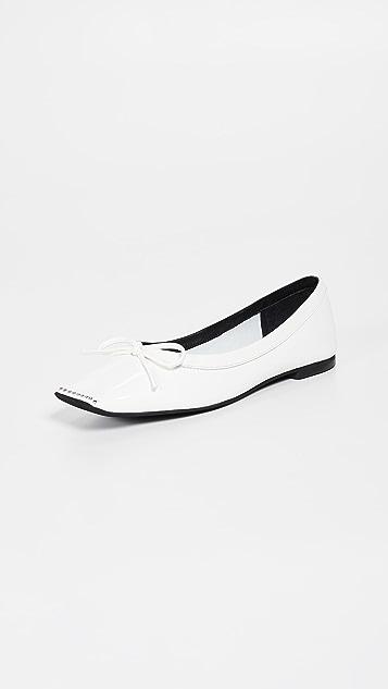 Jeffrey Campbell Обувь Achira на плоской подошве с квадратным мыском