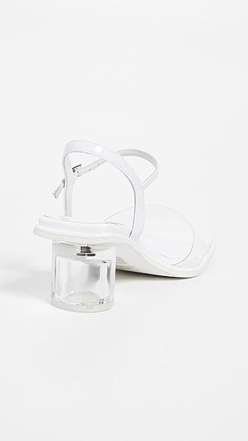 Jeffrey Campbell Futuro Vinyl Sandals