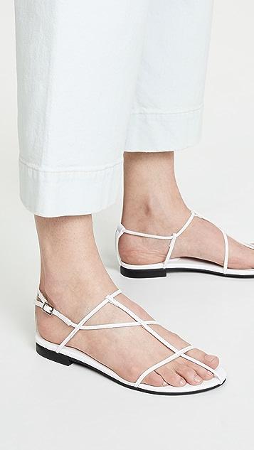 Jeffrey Campbell Deceipt Strappy Sandals