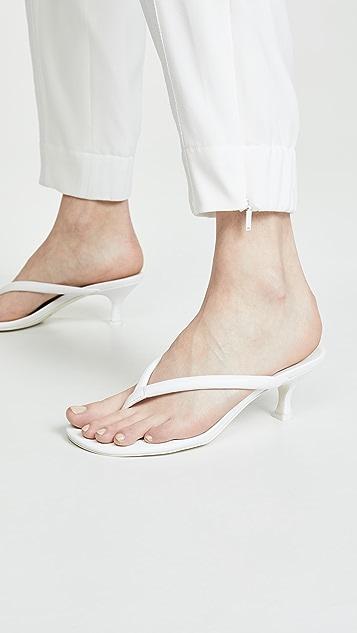 Jeffrey Campbell Brink Kitten Heel Flip Flops