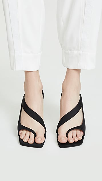 6728b69fc0ae Jeffrey Campbell Berger Asymettrical Sandals