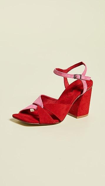18fc4ee15ed Jeffrey Campbell Antique Block Heel Sandals ...
