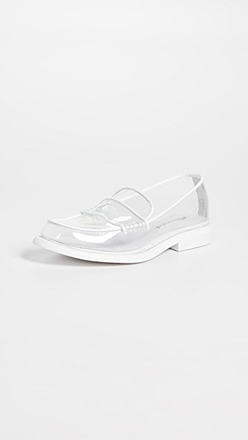 Jeffrey Campbell Kurri Vinyl Loafers