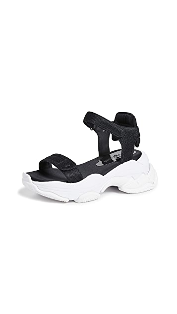 Jeffrey Campbell Work Out Sporty Sandals