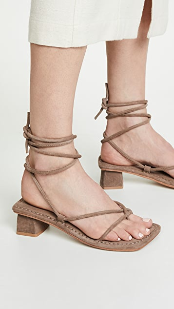 Jeffrey Campbell Kaine Lace Up Sandals