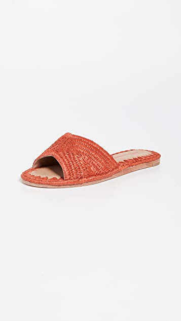 Dane Woven Slides by Jeffrey Campbell
