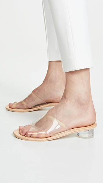 Jeffrey Campbell Bronwen 乙烯树脂无跟便鞋