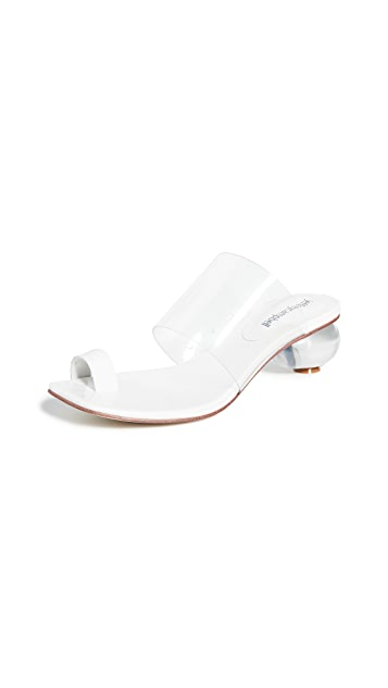 Jeffrey Campbell Caro Toe Ring Sandals