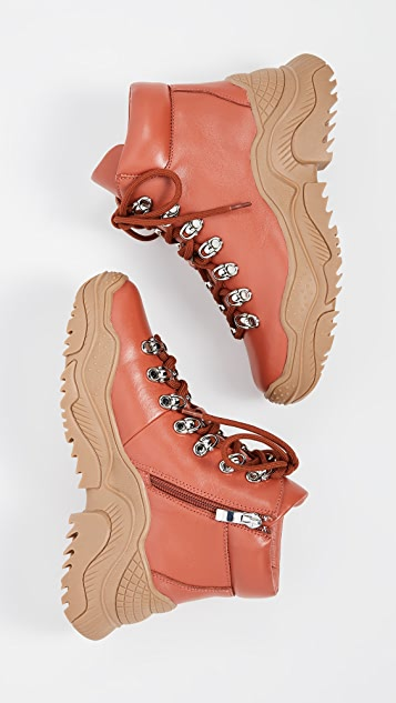 Jeffrey Campbell Армейские сапоги Relic