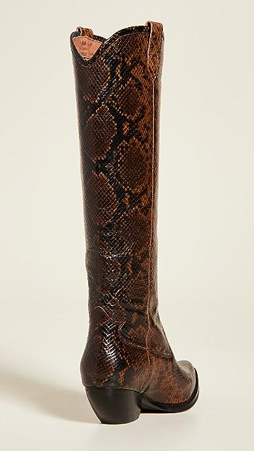 Jeffrey Campbell Calvera Tall Western Boots