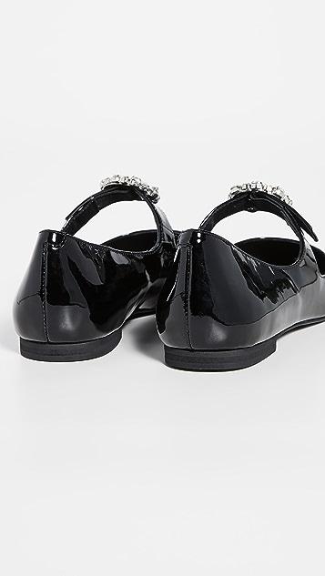 Jeffrey Campbell Bergerac 玛丽珍平底鞋