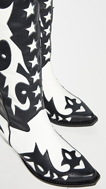 Jeffrey Campbell Starwood Western 靴子