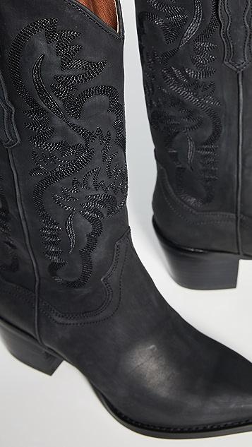 Jeffrey Campbell Ботинки Dagget в ковбойском стиле