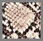 蛇纹棕褐黑