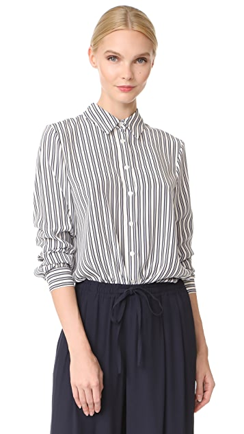 Jenni Kayne Placket Back BF Shirt