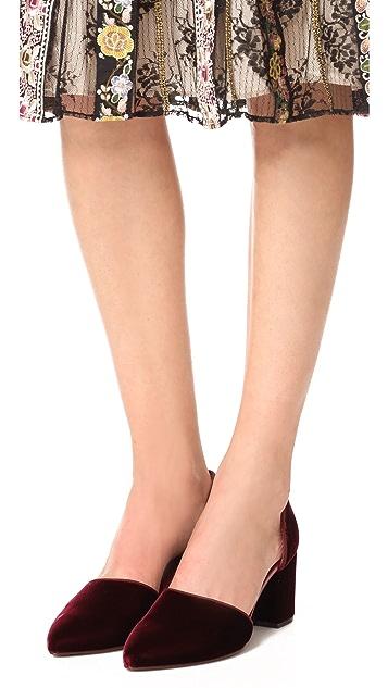 Jenni Kayne Mid Heel d'Orsay Heels
