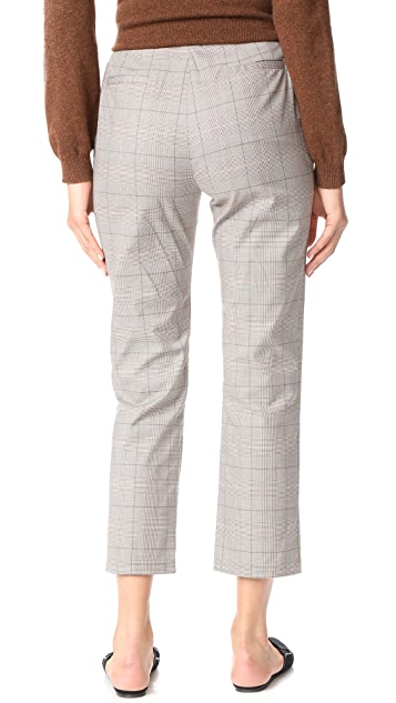 Jenni Kayne Plaid Slim Trouser