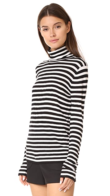 Jenni Kayne Cj Stripe Turtleneck