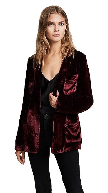 Jenni Kayne Velvet Shirt Jacket